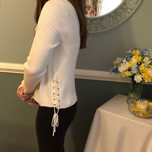 Cream colored Candie's cardigan **NWT**
